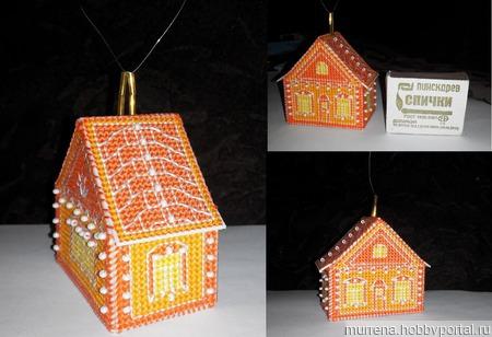 Апельсиновый домик ручной работы на заказ