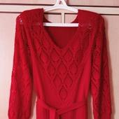 Вязаное платье Шикарное
