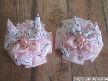 Банты для девочек школьные ручной работы на заказ