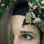 "Повязка на голову ""Монарх"""