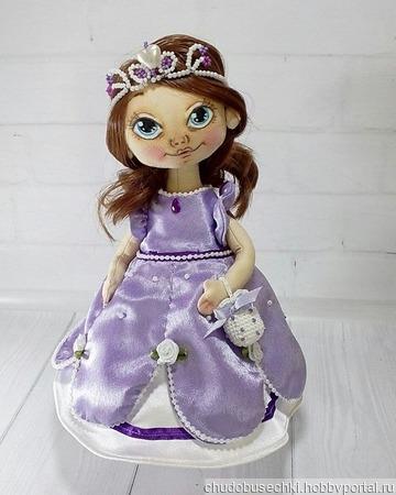 Принцесса София прекрасная ручной работы на заказ