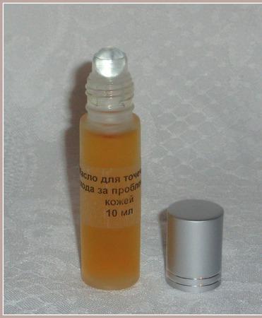 Масло для точечного ухода за проблемной кожей ручной работы на заказ