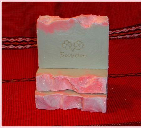 Шелковая роза. Натуральное кастильское мыло с шелком. ручной работы на заказ