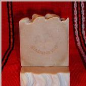 Натуральное мыло с  экстрактом боярышника