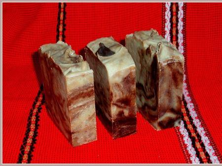 Лавр и ним. Натуральное шелковое мыло ручной работы на заказ