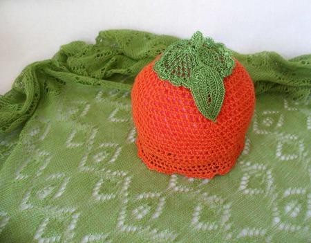 """Комплект """"В апельсиновой роще"""" ручной работы на заказ"""