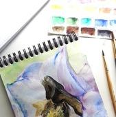 Дельфиниума цвет
