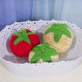 Мячики Фрукты-овощи
