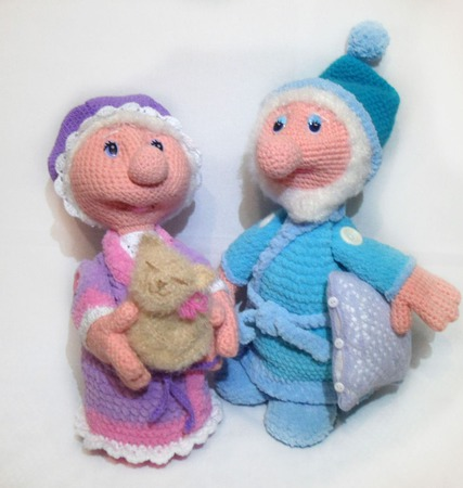 Куклы Сон и Дрёма ручной работы на заказ