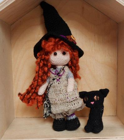 Ведьмочка ручной работы на заказ