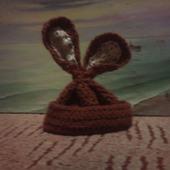 """Шапочка """"Шоколадный заяц"""""""