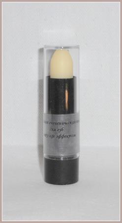 Натуральная гигиеническая помада для губ c anti-age эффектом ручной работы на заказ