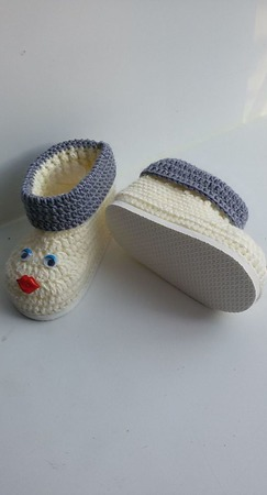 Пинетки- ботиночки ручной работы на заказ
