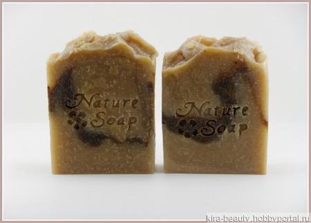 Натуральное мыло с маслом черного тмина и растительной серой ручной работы на заказ