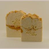 Молочное пралине. Натуральное мыло на свежей сметане и масле сладкого миндаля