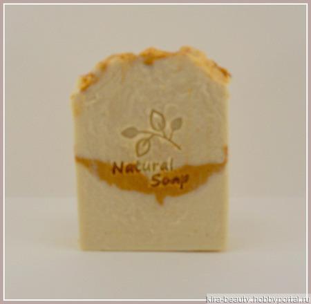 Молочное пралине. Натуральное мыло на свежей сметане и масле сладкого миндаля ручной работы на заказ
