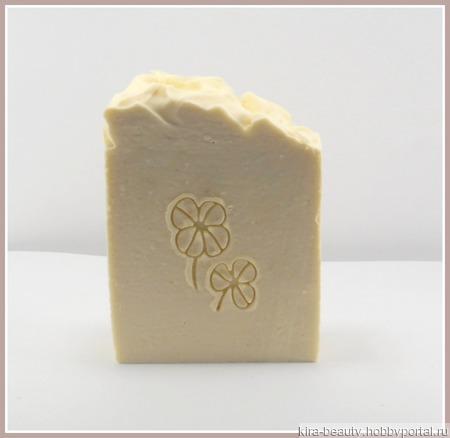 Молочная ваниль. Натуральное мыло на деревенской сметане ручной работы на заказ