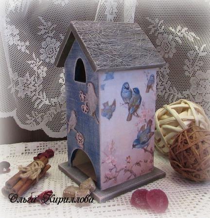 """Чайный домик """"Цветение"""" ручной работы на заказ"""