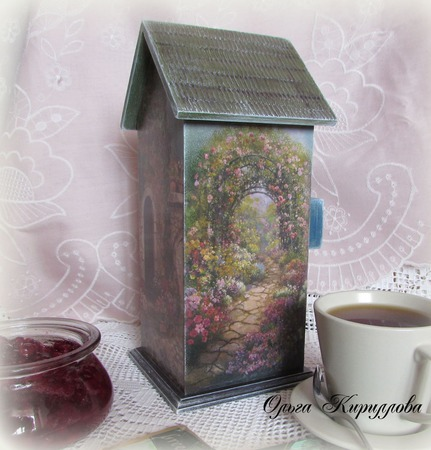 """""""В уютном дворике"""" чайный домик ручной работы на заказ"""