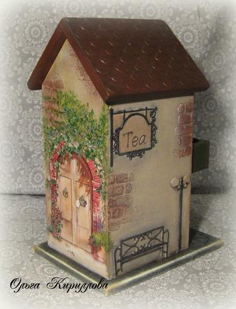 """Чайный домик """"Привет из Прованса"""" ручной работы на заказ"""