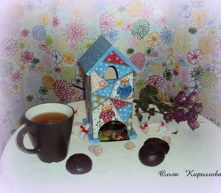 """Чайный домик """"Лоскутки"""" ручной работы на заказ"""