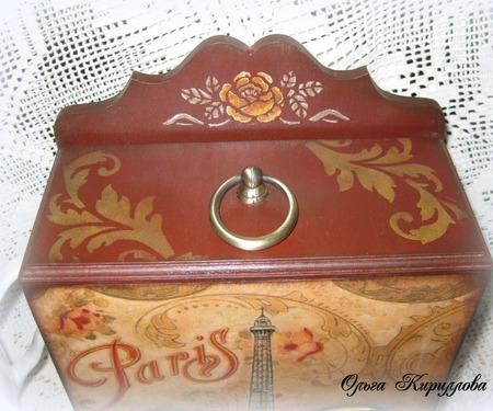 """Буфет чайный """"Rues de Paris"""" ручной работы на заказ"""