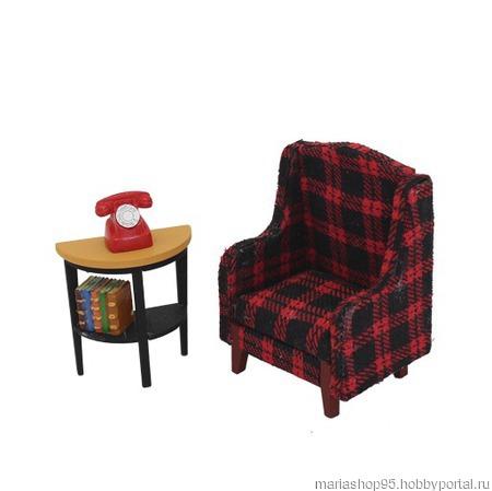 """Набор для изготовления миниатюры """"Кресло"""" ручной работы на заказ"""
