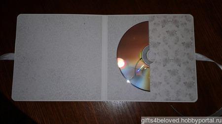 Конверт для диска ручной работы на заказ
