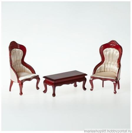 Кресла с чайным столиком ручной работы на заказ