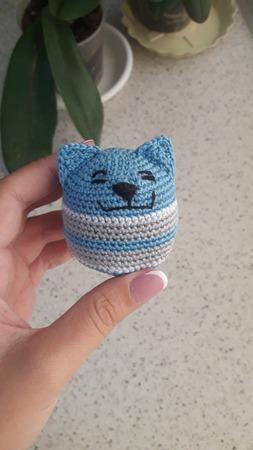 Котик-антистресс ручной работы на заказ