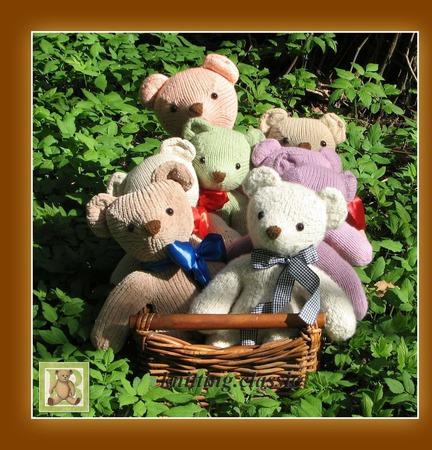 Мишка Тедди - Кевин ручной работы на заказ
