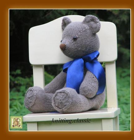 Мишка Тедди - Гарри ручной работы на заказ