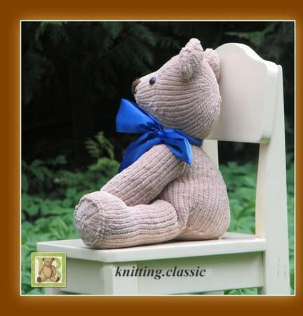 Мишка Тедди - Бобби ручной работы на заказ