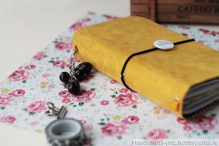 Блокнот в стиле Midori ручной работы на заказ