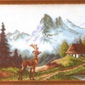 Канва с рисунком 28Х37
