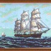 Канва с рисунком 28Х34
