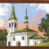 Канва с рисунком 16Х20