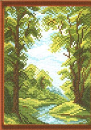 Канва с рисунком ручной работы на заказ