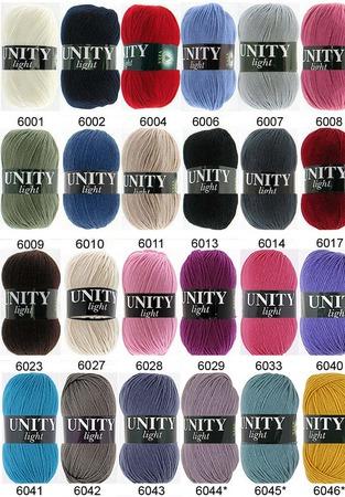 Пряжа Unity Light Vita ручной работы на заказ