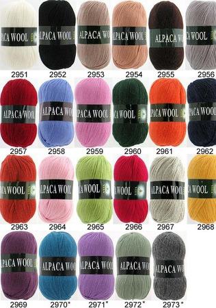Пряжа Alpaca Wool ручной работы на заказ