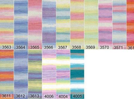 Пряжа Babe Wool Batik ручной работы на заказ