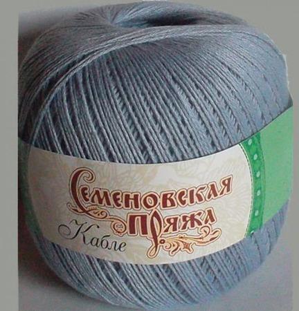 Пряжа Кабле (семеновская) ручной работы на заказ