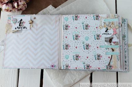 Альбом для девочки ручной работы на заказ