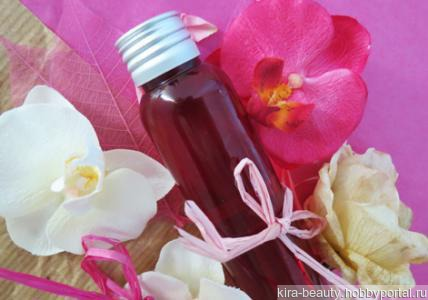 Роза и орхидея. Натуральный антивозрастной тоник с гиалуроновой кислотой,коллагеном и эластином ручной работы на заказ