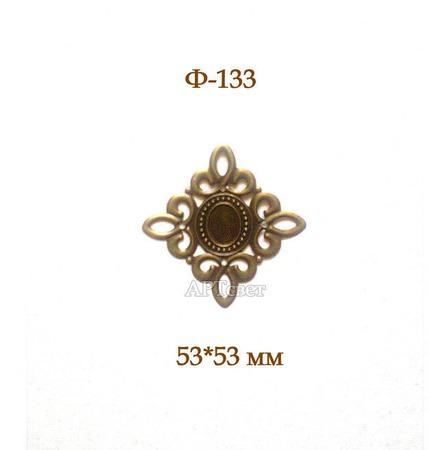 Ф-133 Металлическая филигрань. Декоративные элементы ручной работы на заказ