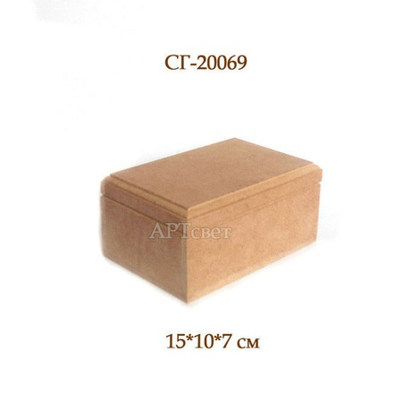 """СГ-20069 Шкатулка """"Классика"""". Заготовки для декупажа ручной работы на заказ"""