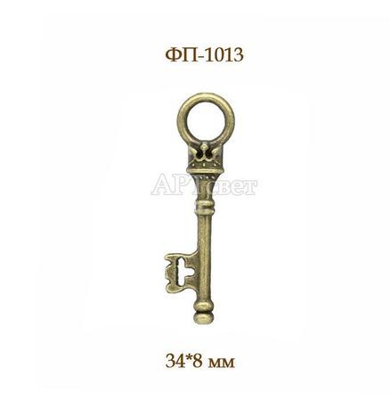 Ключики 5 видов. Античная бронза. Подвески металлические ручной работы на заказ