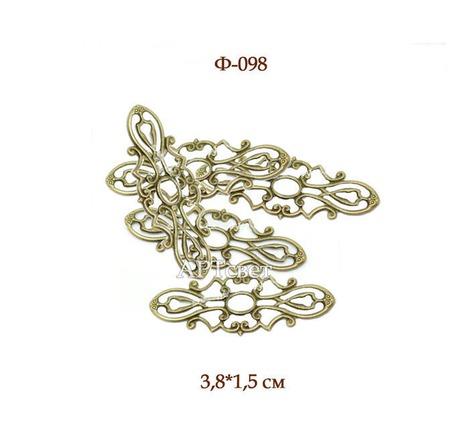 Ф-098 Филигрань. Декоративные элементы ручной работы на заказ