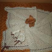 фото: Вязаные пледы и одеяла (по желанию заказчика)
