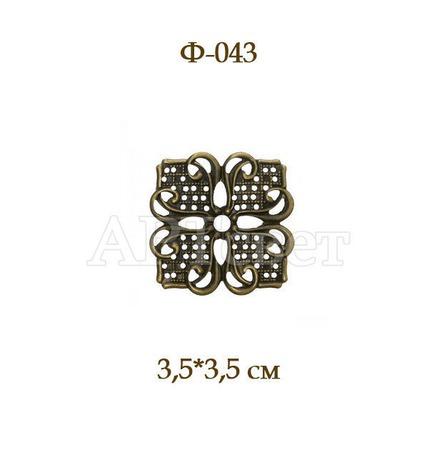 Ф-043 Декоративные элементы. Филигрань. ручной работы на заказ